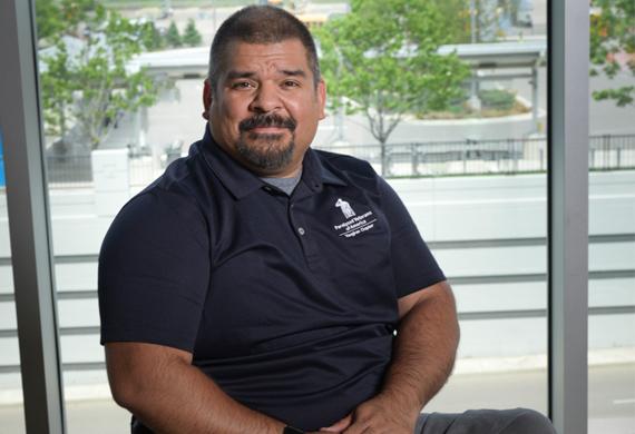 image of Josue Cordova smiling is his wheelchair